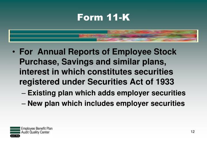 Form 11-K