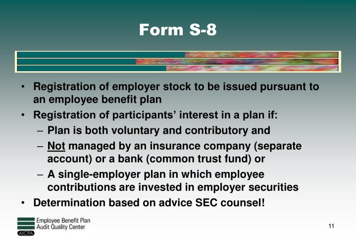 Form S-8
