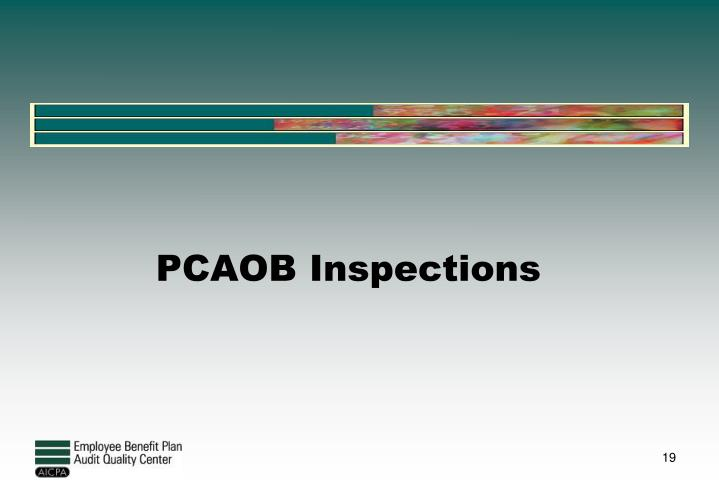PCAOB Inspections