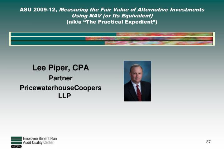 Lee Piper, CPA