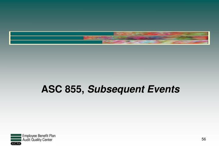 ASC 855,