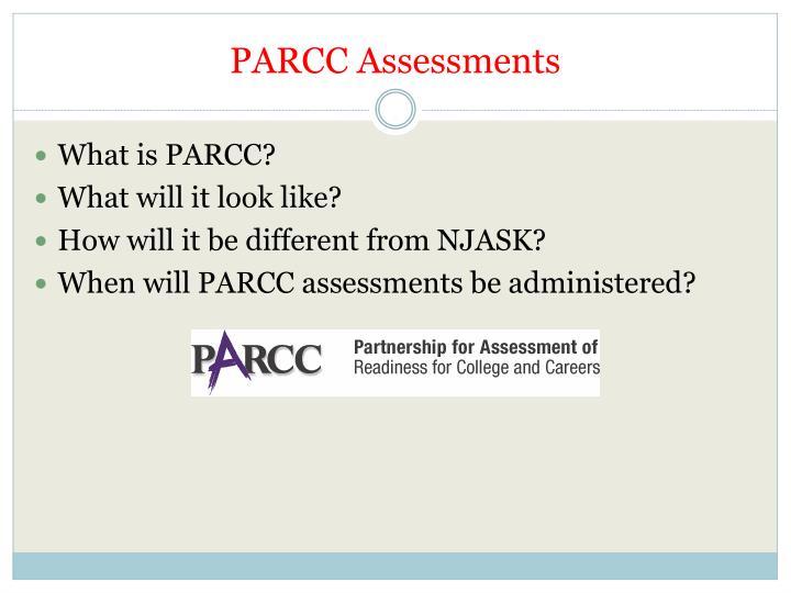 PARCC Assessments