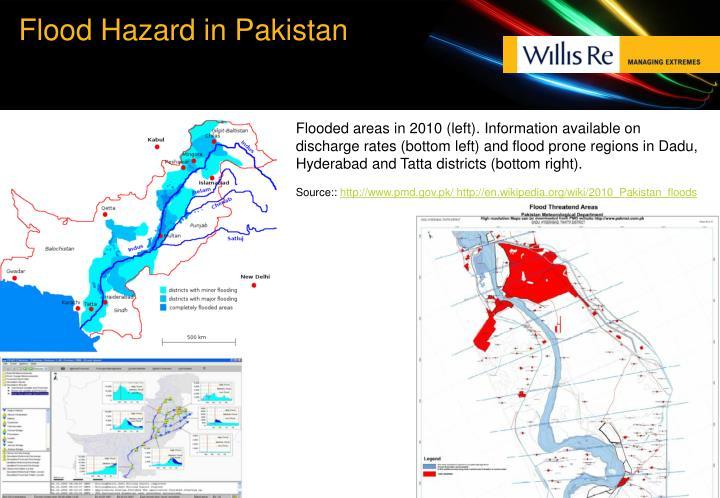 Flood Hazard in Pakistan
