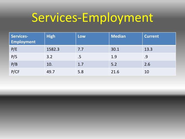 Services-Employment