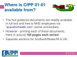 where is cfpp 01 01 available from