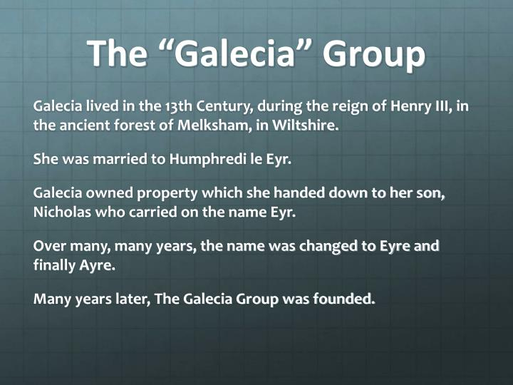 The galecia group