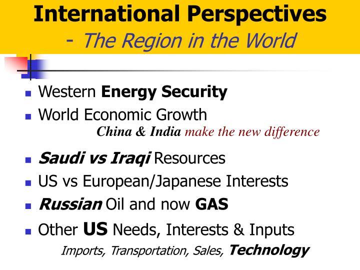 International Perspectives