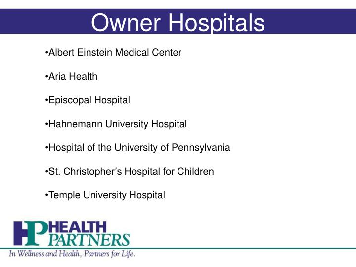 Owner Hospitals