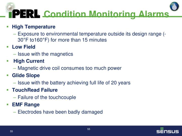 Condition Monitoring Alarms
