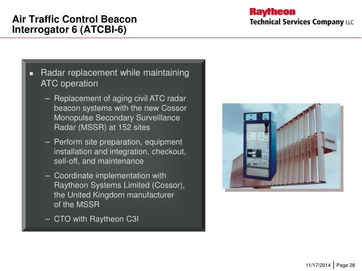Air Traffic Control Beacon
