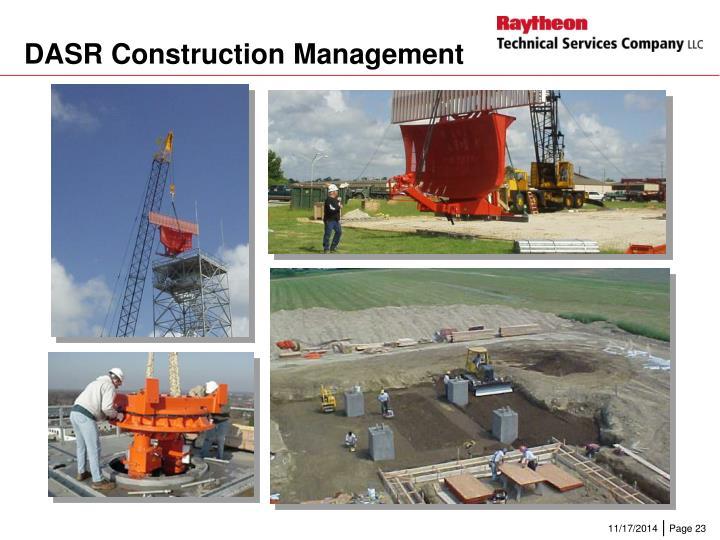 DASR Construction Management