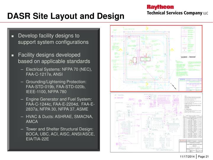 DASR Site Layout and Design