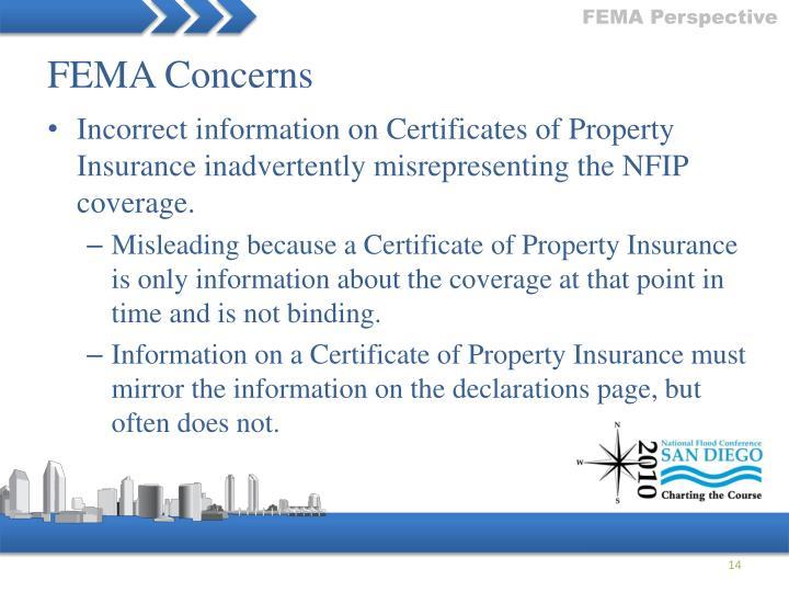 FEMA Perspective