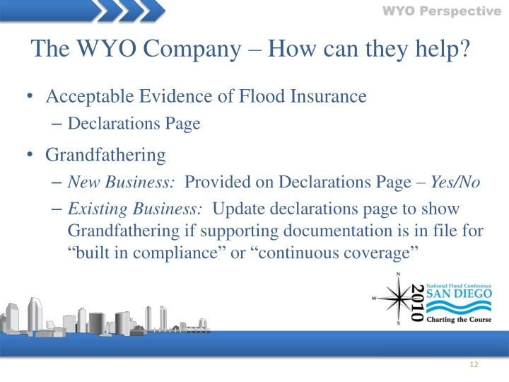 The WYO Company – How can they help?
