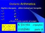 diofanto arithmetica