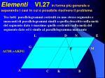 elementi vi 27 in forma pi generale e separando i casi in cui possibile risolvere il problema