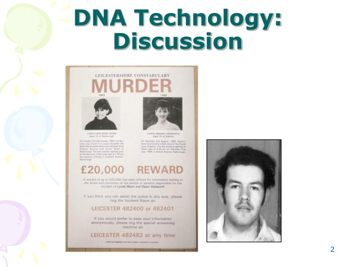 Dna technology discussion