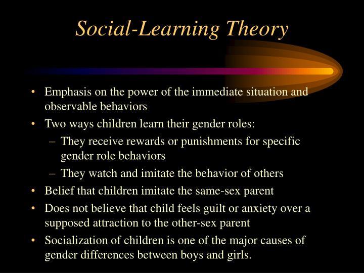 Social-Learning Theory