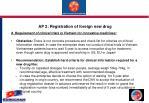 ap 2 registration of foreign new drug6