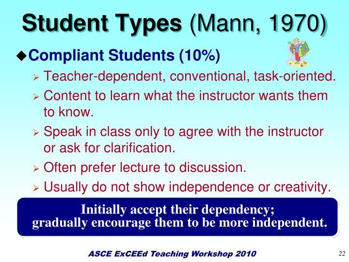 Student Types