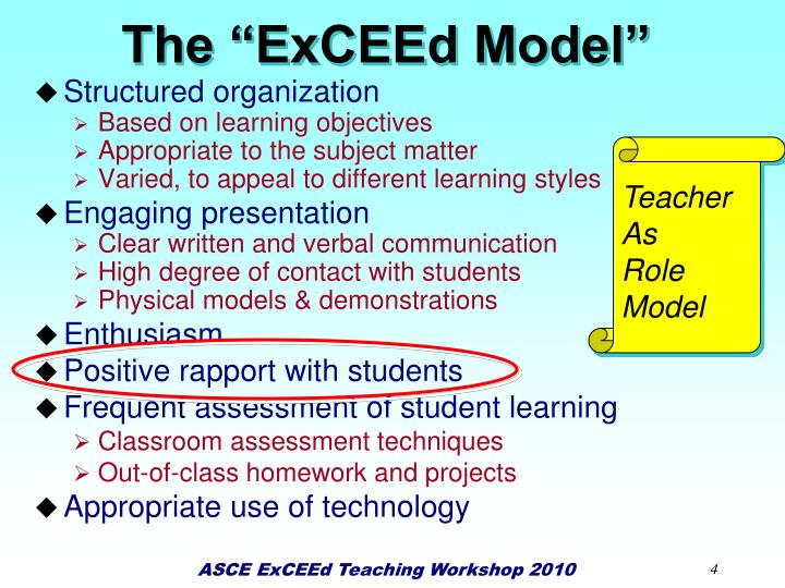 """The """"ExCEEd Model"""""""
