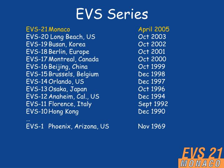 EVS Series