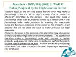 mansfield v dpp wa 2005 31 war 97 pullin ja upheld by the high court as correct