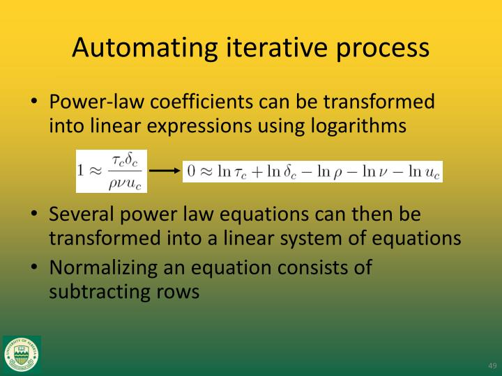 Automating iterative process