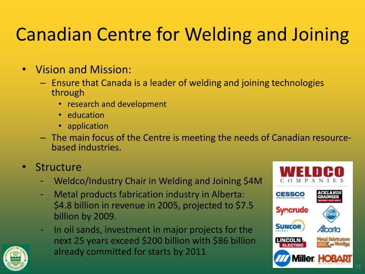 Canadian Centre for Welding and Joining