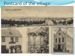 postcard of the village
