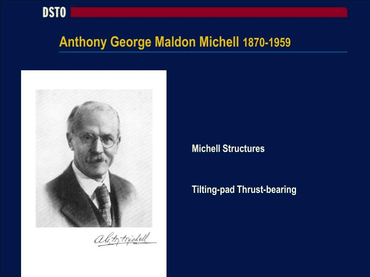 Anthony George Maldon Michell