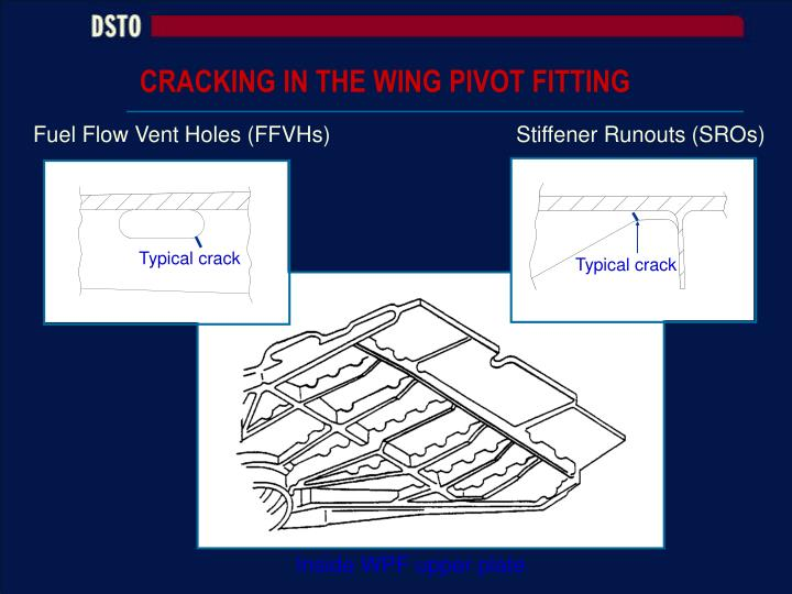 CRACKING IN THE WING PIVOT FITTING