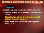 the doj a powerful coming of the lord1