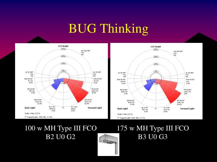 BUG Thinking