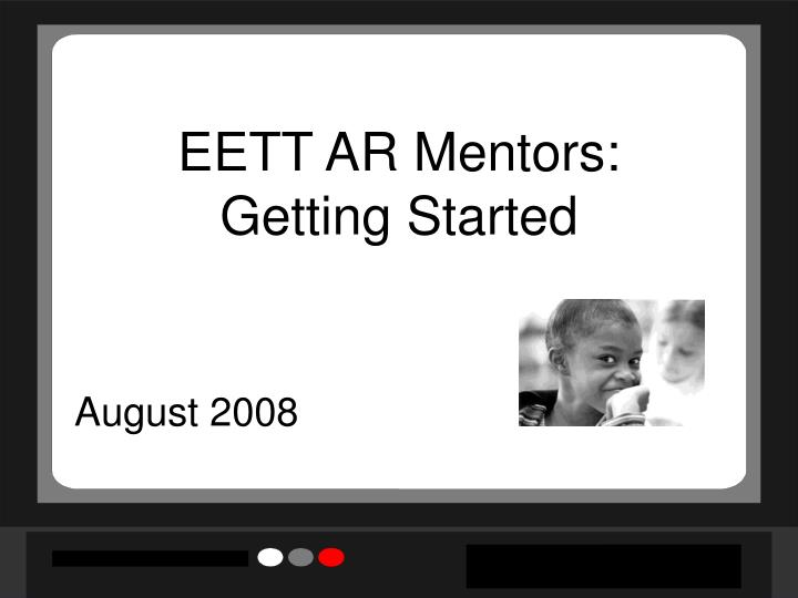 Eett ar mentors getting started