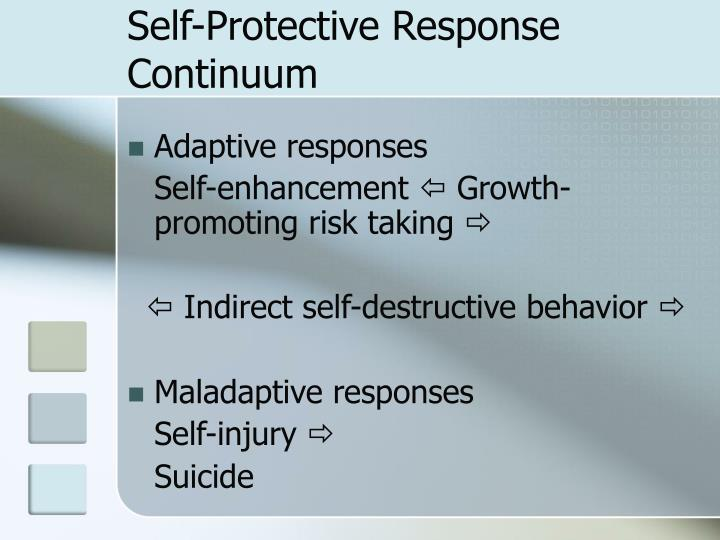 Self-Protective Response Continuum