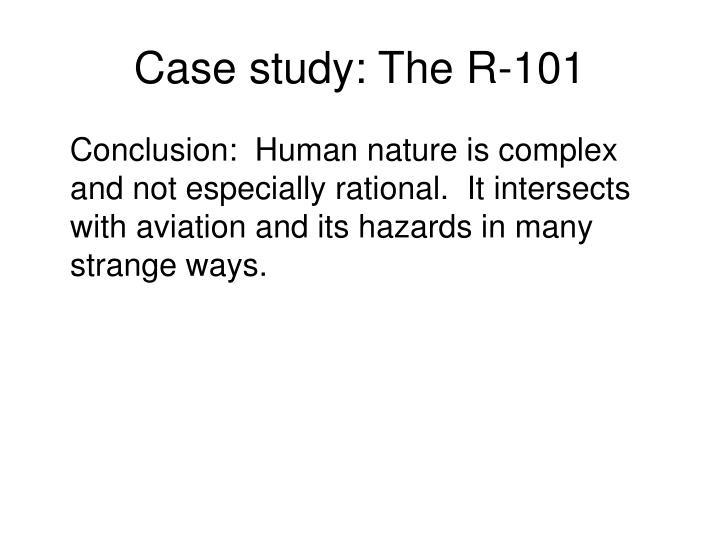 Case study: The R-101