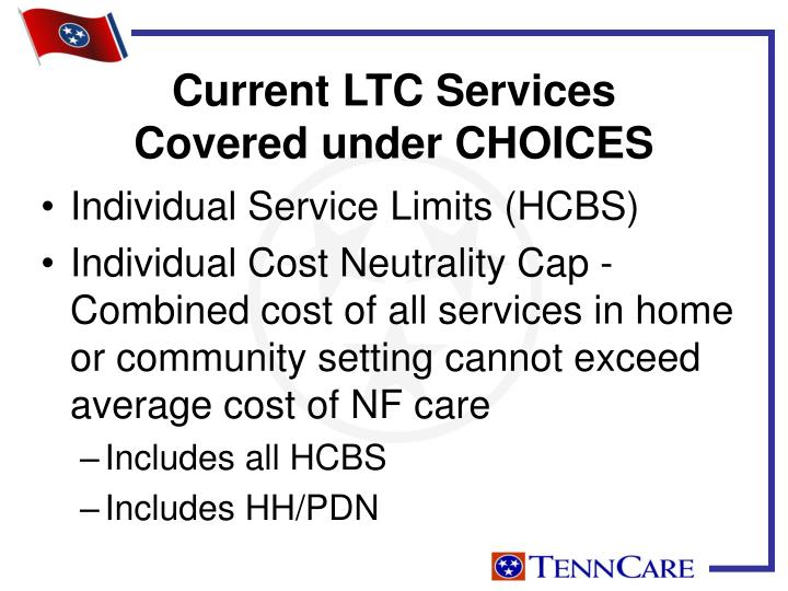 Current LTC Services