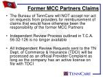 former mcc partners claims