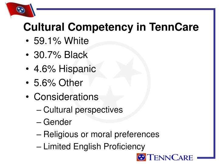 Cultural Competency in TennCare