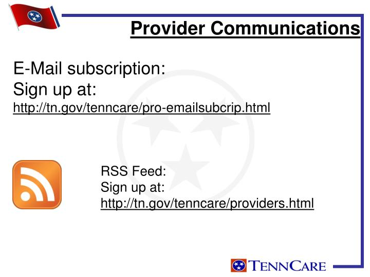 Provider Communications