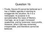 question 1b2