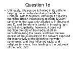 question 1d1