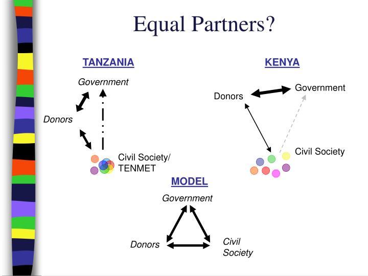 Equal Partners?