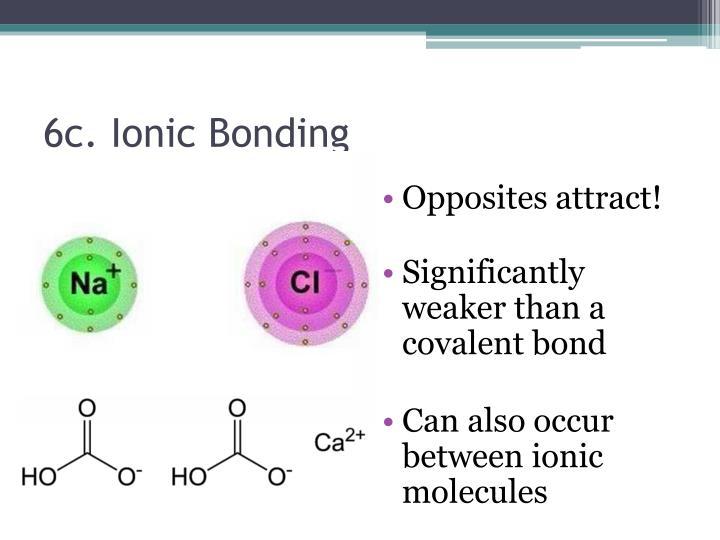6c. Ionic Bonding