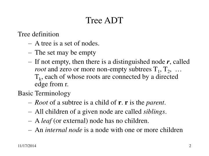 Tree ADT