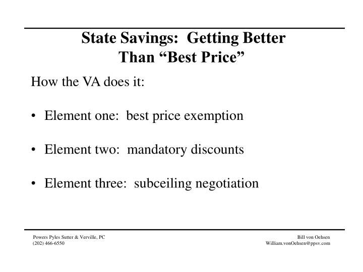 State Savings:  Getting Better