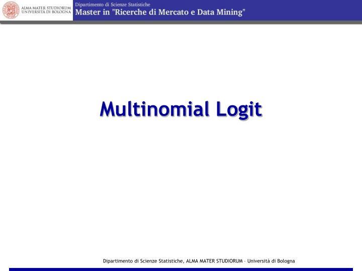 Multinomial Logit