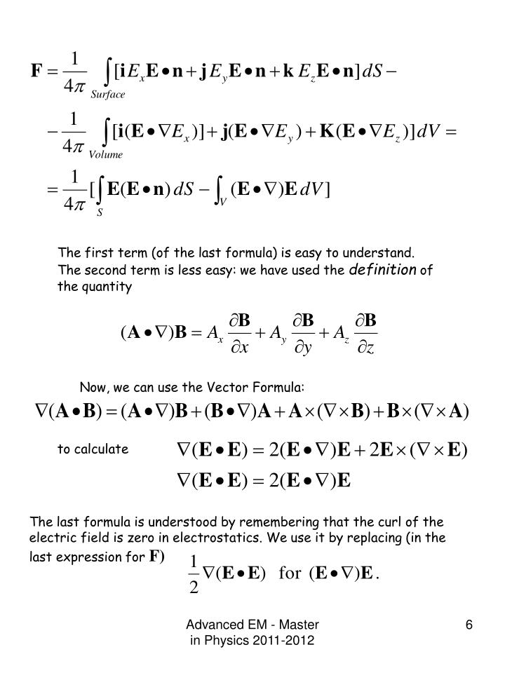 The first term (of the last formula) is easy to understand. The second term is less easy: we have used the