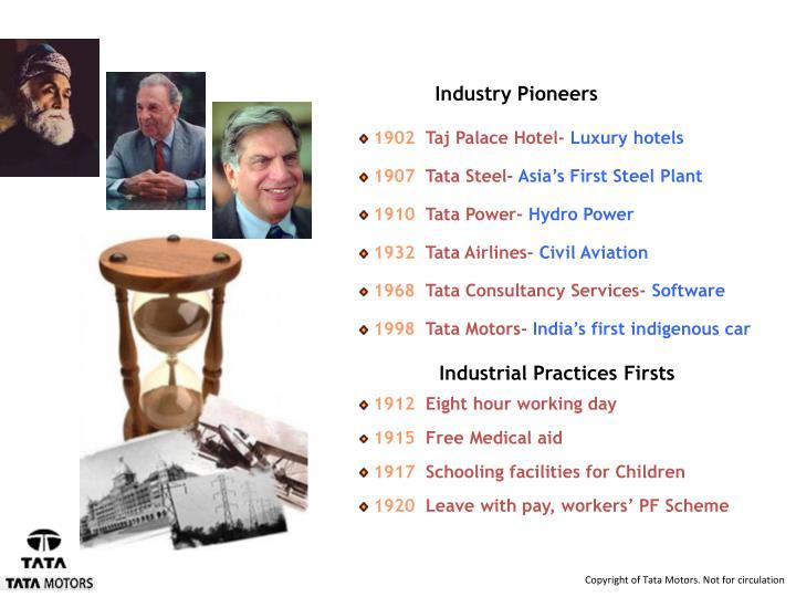 Industry Pioneers